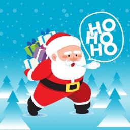 Happy Santa Claus Stickers