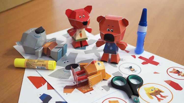 Be-be-bears - Creative world! screenshot-4