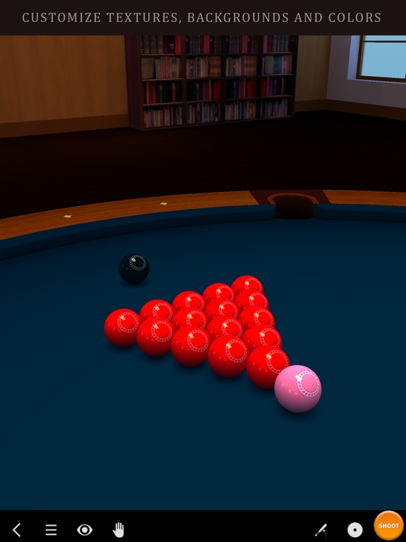 Screenshot #3 for Pool Break 3D Billiards 8 Ball, 9 Ball, Snooker
