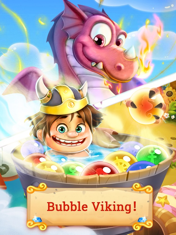 Bubble Viking : Bubble Shooterのおすすめ画像1