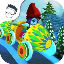 VR Christmas Roller Coaster