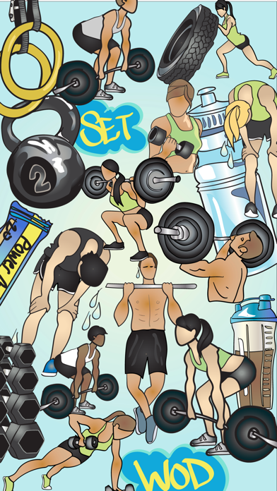 Crossfit & Weightlifting Stickers and Emojis screenshot two