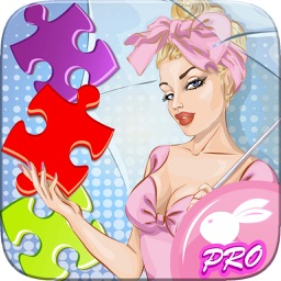Women Retro Jigsaw Puzzles World - Pro