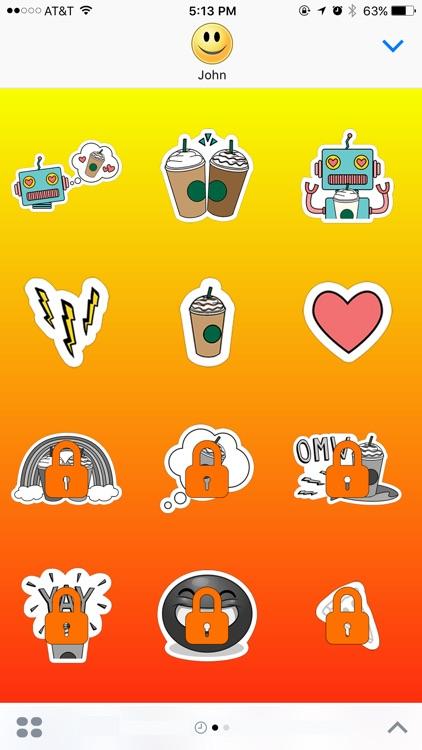 100 Сups of Сoffee and you King of life Stickers