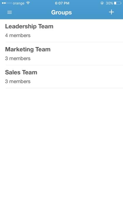 Venncomm Talk for BlackBerry screenshot-3