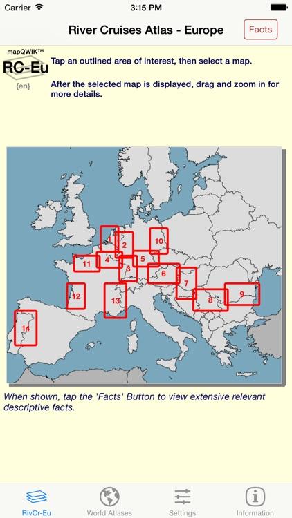 River Cruises Atlas -Europe