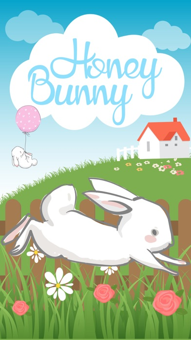 Honey Bunny - Cute Easter Bunny for Spring