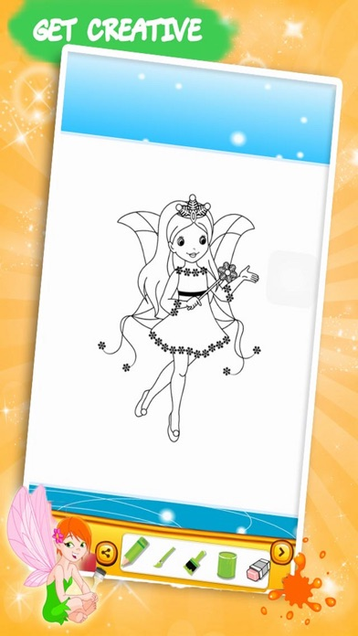 Princess Color Book – Painting Pic 2