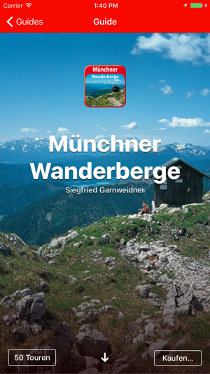 rother touren guides qualit ts wandern mit gps im app store. Black Bedroom Furniture Sets. Home Design Ideas