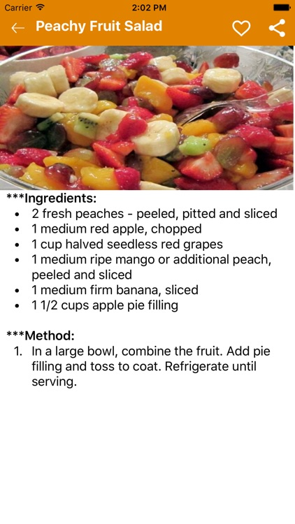 Delicious Peach Recipes - Desserts Recipes screenshot-3