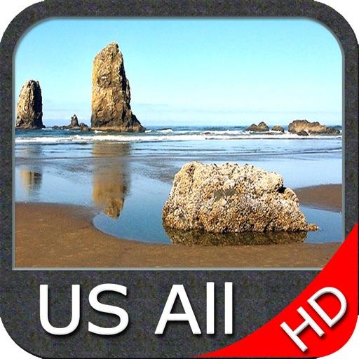 Boating USA HD -  GPS Map Navigator