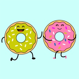 Animated Donut Lovers Stickers