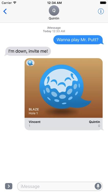 Mr. Putt - Mini Golf for iMessage