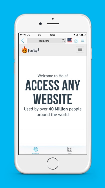 Hola Privacy VPN App & Browser screenshot-3