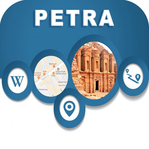 Petra Jordan Offline City Maps with Navigation