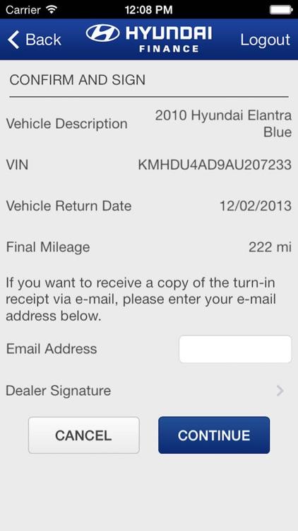 Hyundai Motor Finance Dealer GroundScan