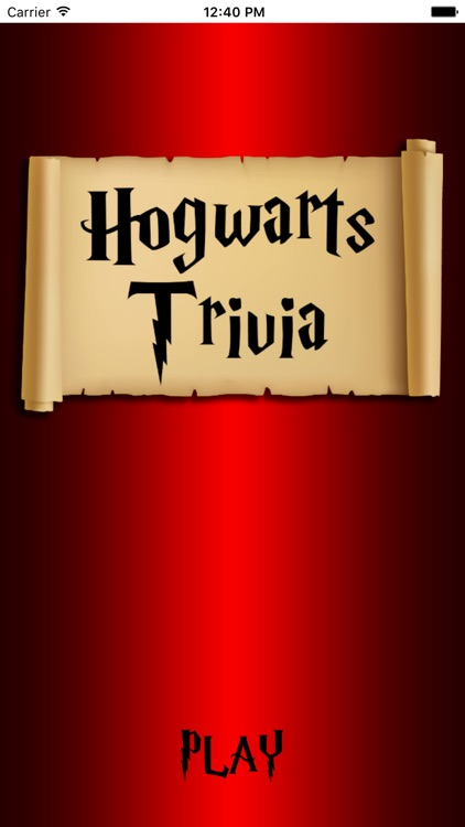 Quiz - Hogwarts Trivia Edition