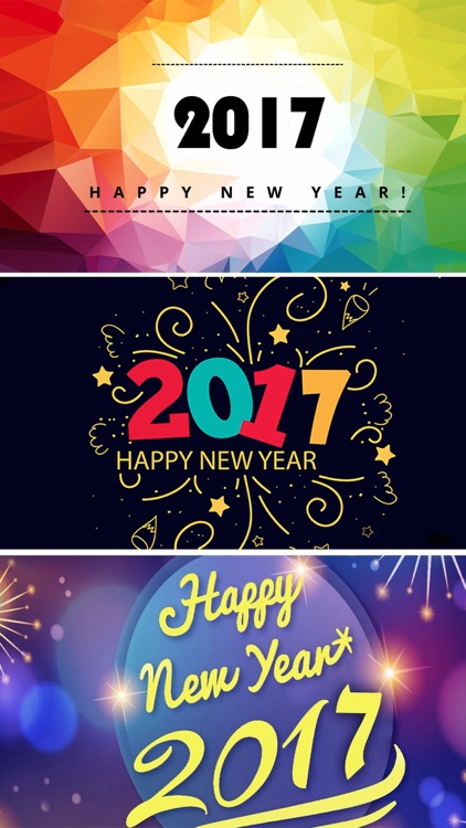 Happy New Year 2017 Wallpapers & Countdown Clock screenshot-3