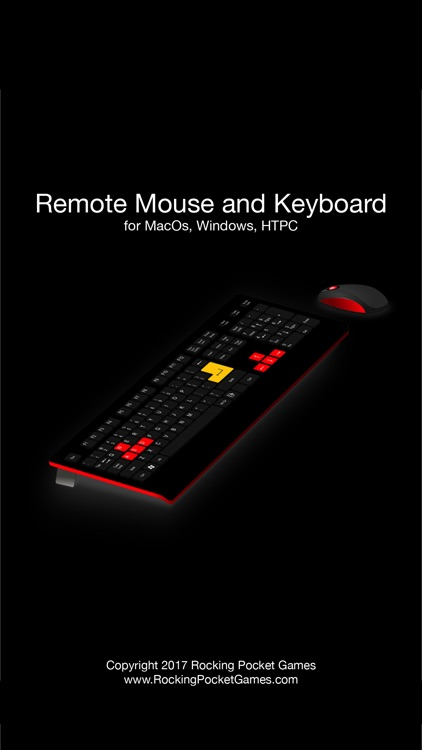 Remote Mouse And Keyboard