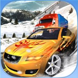 Snow Hill Car & Truck Driving Mania Simulator Game