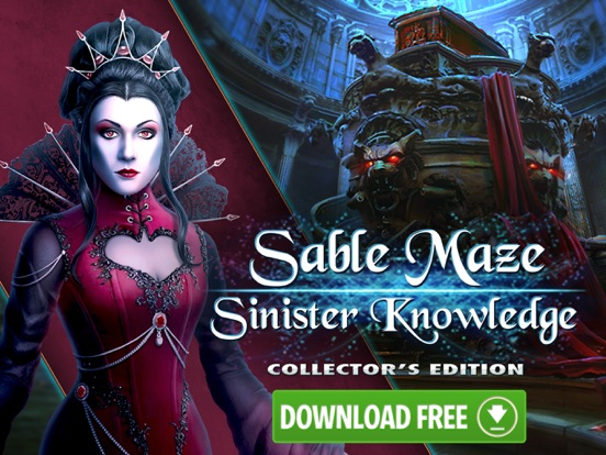 Sable Maze: Sinister Knowledge HD - Hidden Objects screenshot 5