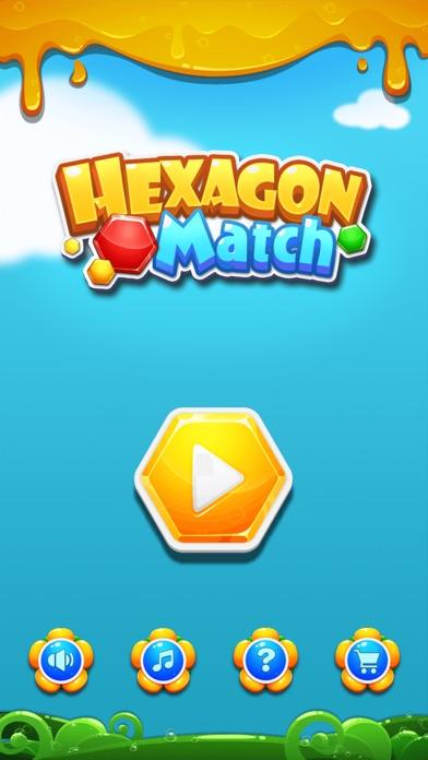 Hexagon Match screenshot one