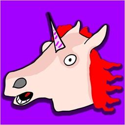 TayTay, the Magic Unicorn - Animated Stickers