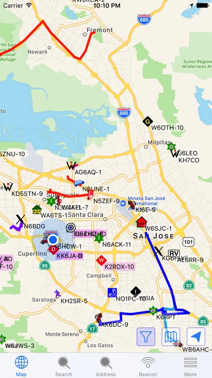 aprs.fi screenshot-0