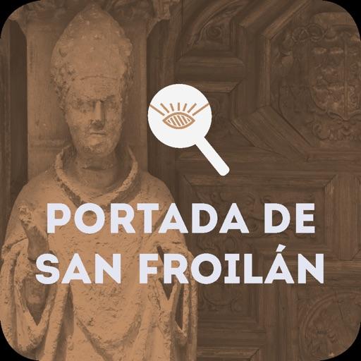 Portada de San Froilán de la Catedral de León