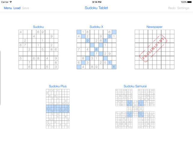 Sudoku Tablet on the App Store