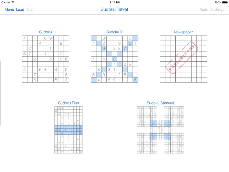 Sudoku Tablet screenshot-0