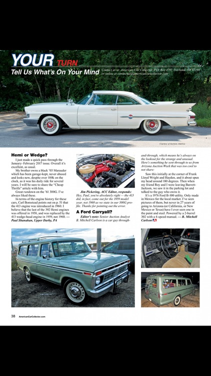 American Car Collector Magazine screenshot-2