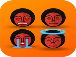 You can now express your self with the Habesha version of the traditional emojis