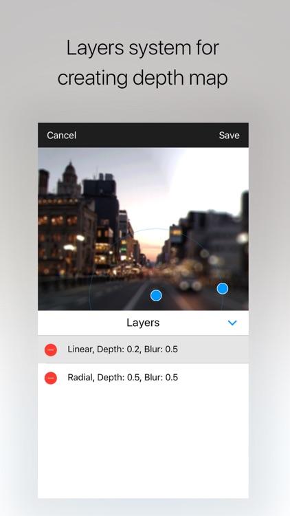 Drop - photorealistic depth of field with bokeh screenshot-3