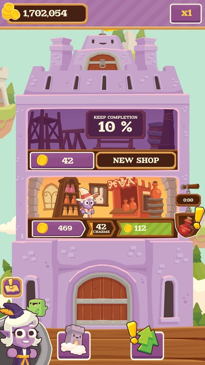 Charming Keep - Collectable Tower Tapper screenshot-4