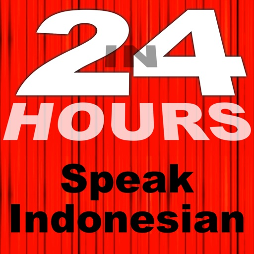 In 24 Hours Learn to Speak Indonesian (Bahasa)
