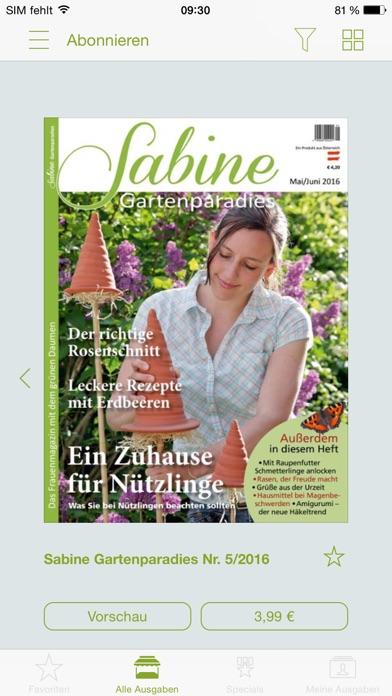 SabineScreenshot von 2