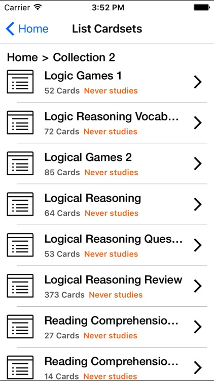 LSAT Flashcards