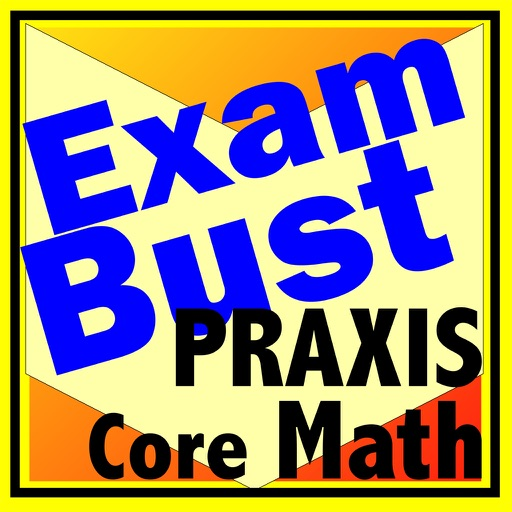 Praxis Core Math Prep Flashcards Exambusters