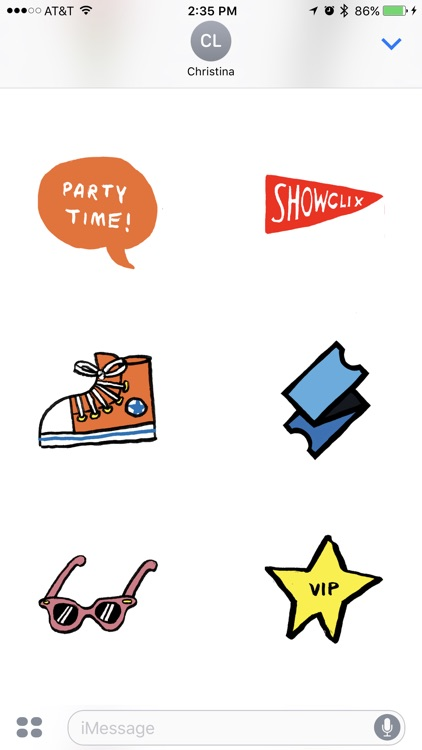 ShowClix Stickers