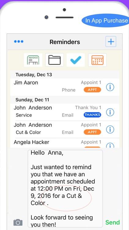 Salon Manager Business & More screenshot-3