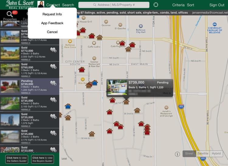 John L. Scott Home Search iPad screenshot-4