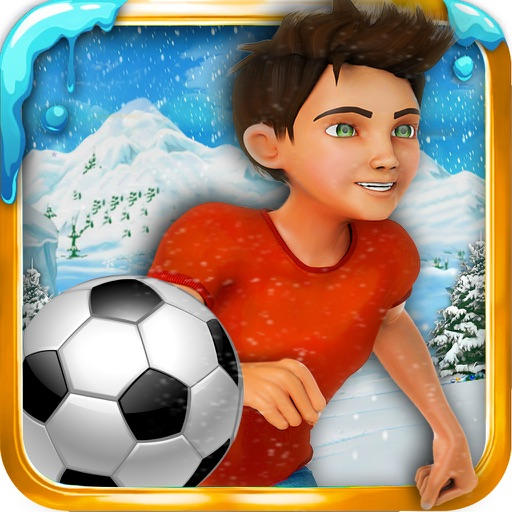 Soccer stunts and race - winters soccer trainer 3d