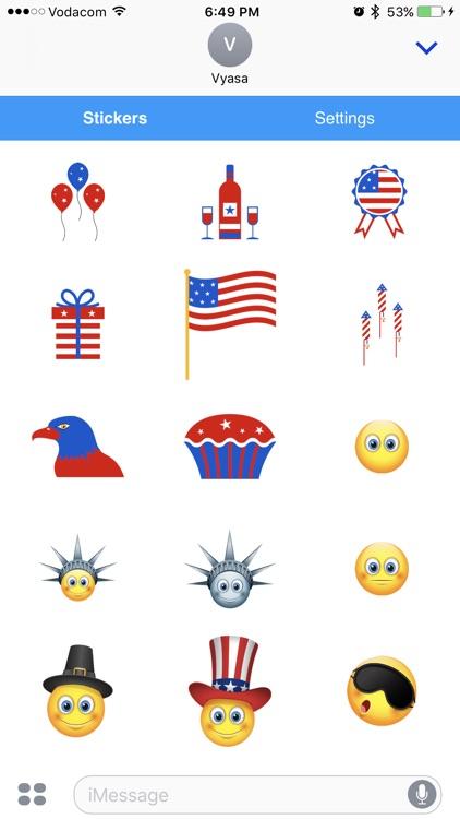 American Emoji - Great Emoticons for Texting screenshot-3