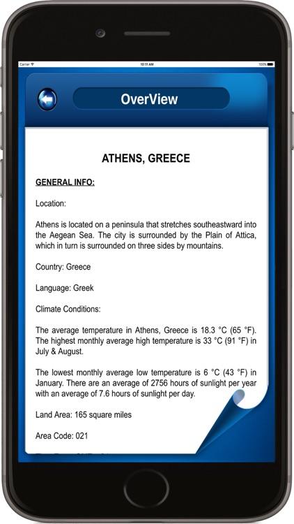 Athens Greece - Offline Maps Navigator screenshot-4