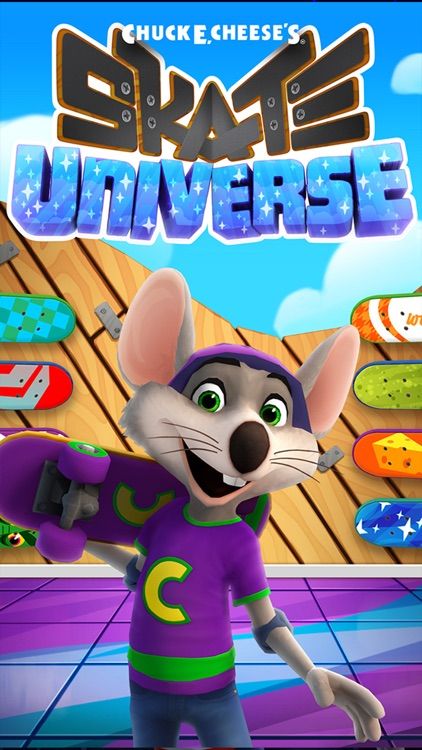 Chuck E. Cheese's Skate Universe screenshot-2