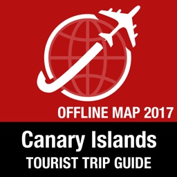Canary Islands Tourist Guide + Offline Map