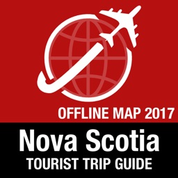 Nova Scotia Tourist Guide + Offline Map