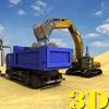道路建设镇建设者:自卸车司机