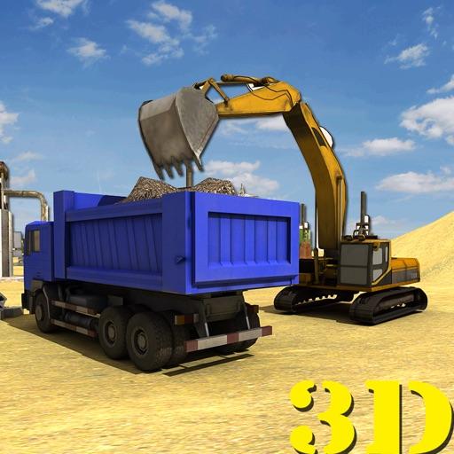 Строительство дорог Город Строитель: Водитель 3D